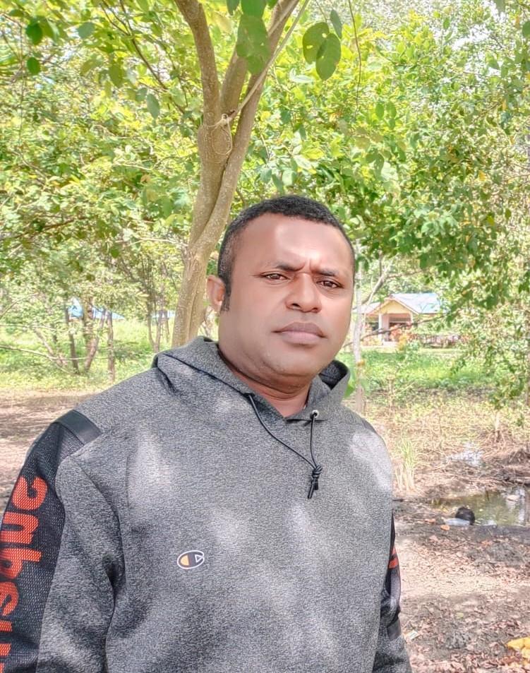 Boas Markus Sumuai (Tokoh Pemuda dan Pengurus KNPI Kab. Teluk Wondama)