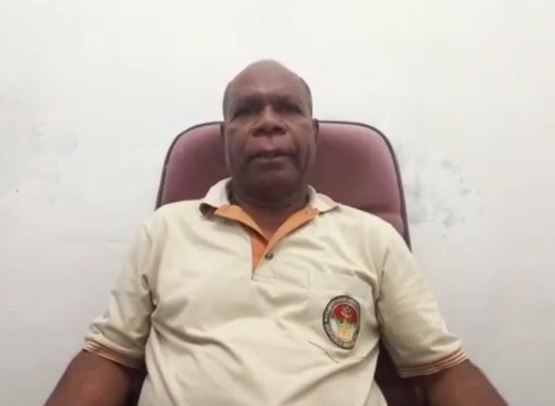Amos Masei (Kepala Suku Imekko Wilayah Sorong Raya)