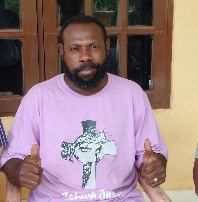 Amon Meles (Tokoh Pemuda Tehit Kab. Sorong Selatan)