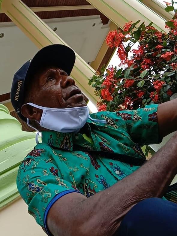 Musa Orosomna (Kepala Suku Meriep Distrik Merdey Kab. Teluk Bintuni)