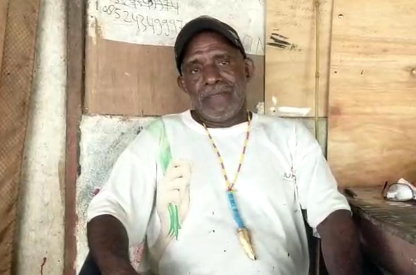 Sipai Abner Bisulu (Ketua Dewan Adat Papua Otoritas Asli Suku Moi)
