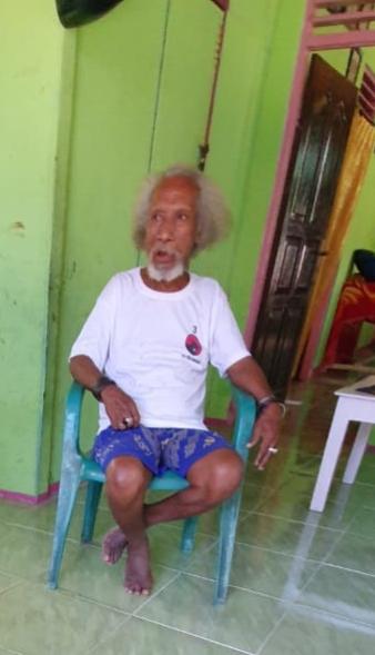 Pdt. Bertus Markus Rumbino (Pendeta GKI Ebenhaezer Kota Sorong)