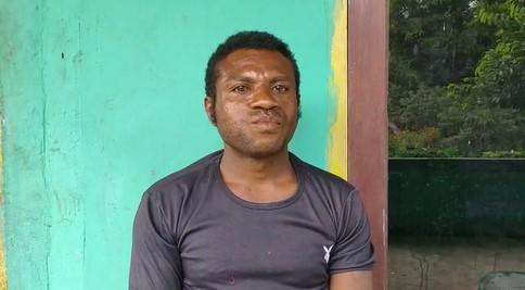 Boaz Mandacan (Kepala Kp. Meinyoumfoka Kab. Manokwari)